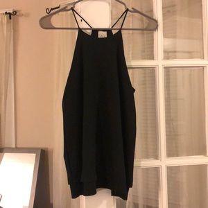 Black polyester tank